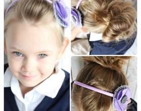 10 Быстрых причесок для девочек в школу за 5 минут фото