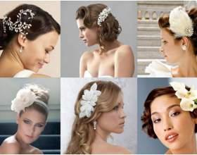 12 Аксессуаров, которые великолепно смотрятся на свадебных прическах всех стилей фото