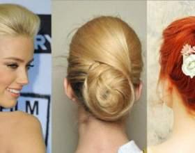 4 Вида простых и легких вечерних причесок на средние волосы фото
