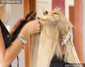 Алмазное наращивание волос фото