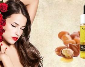 Argaria масло для волос: стимулирует рост волос, придает им силу, делает их пышными, блестящими и густыми фото