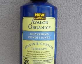 Avalon organics — кондиционер для волос с биотиновым комплексом фото