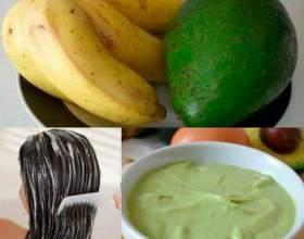 Банан для волос: вкусные увлажняющие маски фото