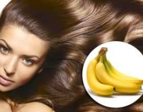 Банановая маска для увлажнения волос фото