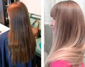 Брондирование на светлые волосы фото