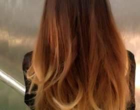 Брондирование волос: эффект выгоревших волос фото