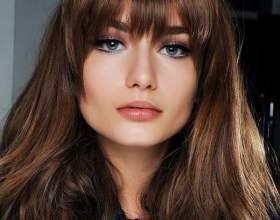 Челки для длинных волос (фото) фото