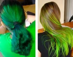 Что делать если волосы после окрашивания стали зелеными? фото