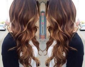 Цвет волос весна 2016 фото