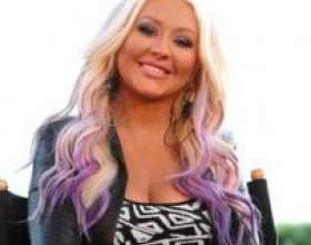 Цветные кончики волос фото