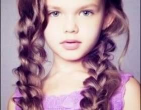 Детские причёски для маленьких принцесс: красота не требует жертв фото
