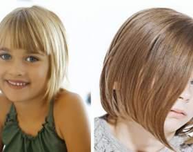 Детские стрижки для девочек – сдержанное изобилие фото