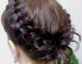 Французская коса из 5 прядей фото