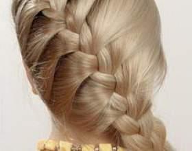 Французская коса: схема и техника плетения фото