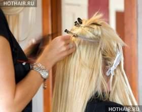 Французское наращивание волос фото