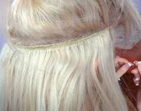 Голливудское наращивание волос — преимущества и недостатки фото