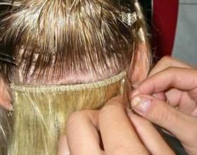 Голливудское наращивание волос фото