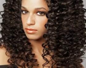 Хим завивка на длинные волосы фото