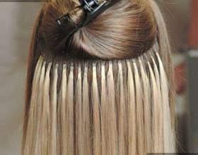 Испанское наращивание волос фото