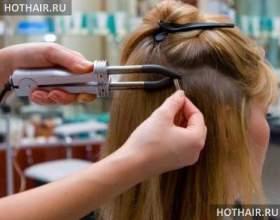 Итальянское наращивание волос фото