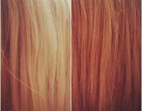 Изменение цвета волос с помощью оттеночного шампуня фото