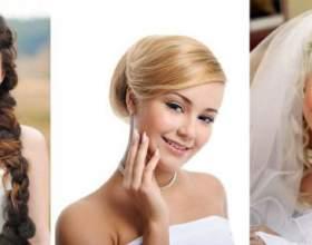 Этот мучительный круг лица, или как подобрать прическу на свадьбу? фото