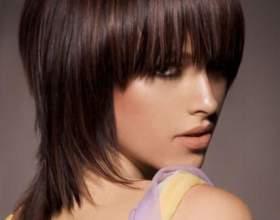 Как делают стрижку шапочку для средних волос фото