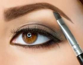 Как использовать тени и карандаш для коррекции бровей? фото