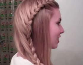 Простые прически на длинный волос фото