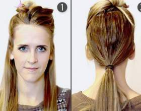 Как красиво собрать волосы? Прически за 5 минут фото
