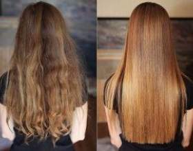 Как ламинировать волосы в домашних условиях фото