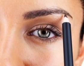 Как правильно рисовать брови с помощью карандаша фото