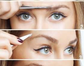 Как правильно выщипать брови идеально подходящей формы фото