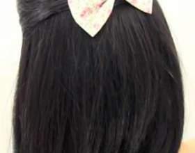 Как придать объем волосам без валика фото