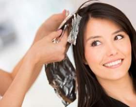 Как проводится брондирование на тёмные волосы? фото