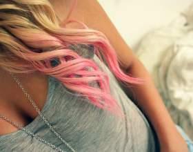 Как сделать цветные кончики волос фото