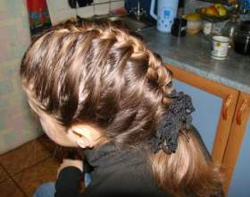Как сделать детскую прическу коса колосок. фото