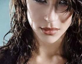 Как сделать эффект мокрых волос фото