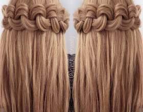 Как сделать косу гофре фото