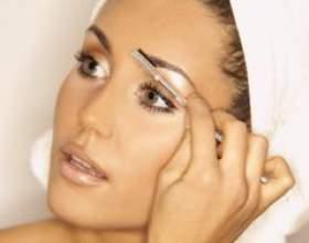 Как сделать красивые и естественные брови при помощи покраски фото