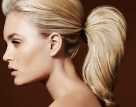 Как сделать красивый хвост на длинные волосы быстро и поэтапно фото