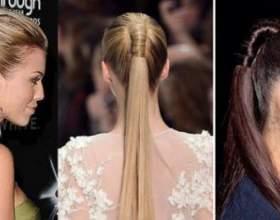 Как сделать самой себе прическу высокий красивый хвост из волос фото