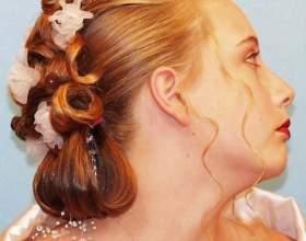 Свадебная прическа на длинные волосы. Мастер-класс фото