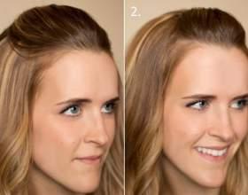 Как заколоть челку, 15 простых вариантов фото