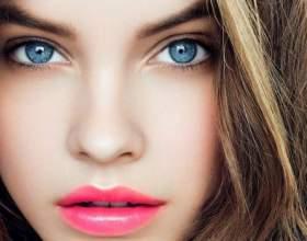 Какой цвет и оттенок волос подобрать для голубых глаз фото