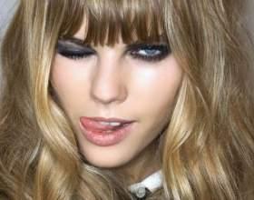 Какой макияж подходит девушкам с чёлкой фото