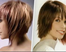 Каре на средние волосы с челкой фото