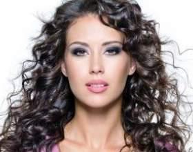 Карвинг или долговременная укладка средних и длинных волос фото