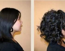 Карвинг волос — долговременная укладка фото