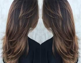 Каштановая краска для волос фото